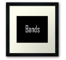 Band Framed Print