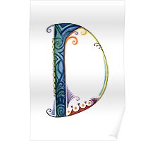The Letter D Poster