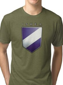 Ishean Coat of Arms Tri-blend T-Shirt