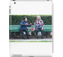 Conversation In The Park iPad Case/Skin