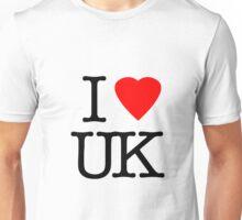 I Love United Kingdom - I Heart UK Unisex T-Shirt