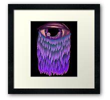 The eye. Framed Print
