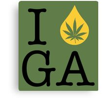 I Dab GA (Georgia) Canvas Print