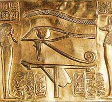 Ancient Egyptian Eye of Horus  by Draconarth