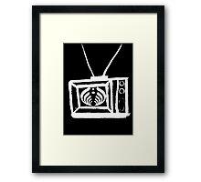 Bass TV Framed Print