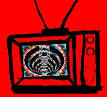 trippy bass tv by Zachary Garrison
