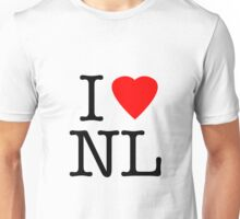 I Love Netherlands - I Heart NL Holland Unisex T-Shirt