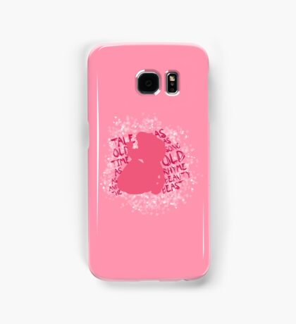 Tale as old as time... (Pink) Samsung Galaxy Case/Skin