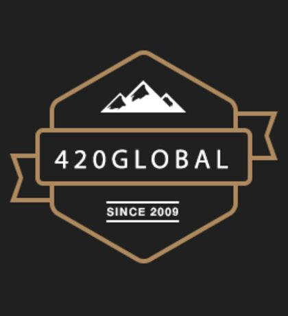 420 Sticker #3 / 420 Global Black Mountains Original 2009  Sticker