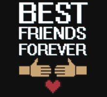 BEST FRIENDS FOREVER COUPLES DESIGN by 2E1K
