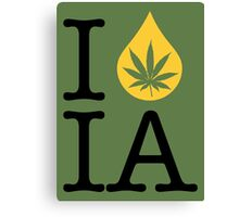 I Dab IA (Iowa) Canvas Print