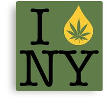I Dab NY (New York) Canvas Print