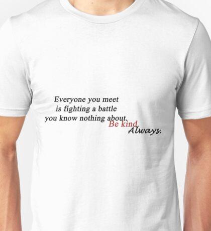 Skam quote Unisex T-Shirt