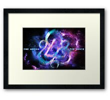 Coheed and Cambria Keywork Poster Framed Print