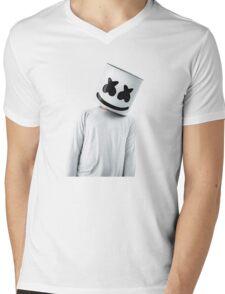 marshmello Mens V-Neck T-Shirt