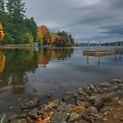 Autumn on Highland Lake by Colleen Drew