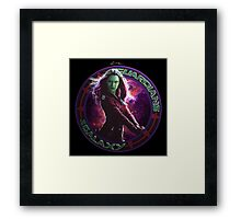 Gamora - Guardians Of The Galaxy Framed Print