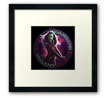 Gamora - Guardians Of The Galaxy Framed Print