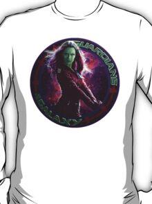 Gamora - Guardians Of The Galaxy T-Shirt