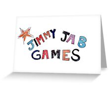 Jimmy Jab Games - Brooklyn Nine Nine Greeting Card