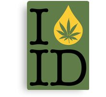 I Dab ID (Idaho) Canvas Print
