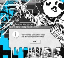 WATCH_DOGS 2 - DedSec (ATTACK OF THE ERROR) Sticker