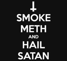 Smoke Meth, Hail Satan 2 by WillowTheLlama