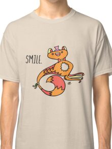 Smile Monster Illustration Classic T-Shirt