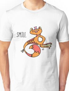 Smile Monster Illustration Unisex T-Shirt