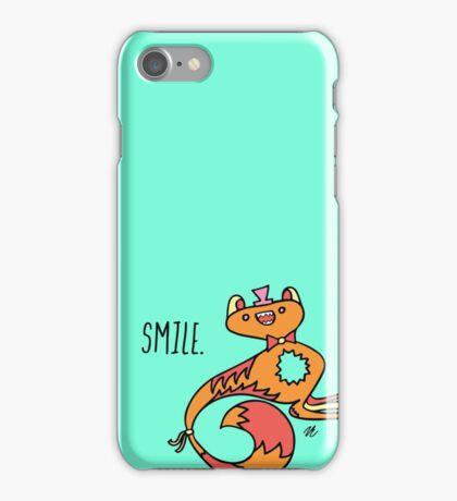 Smile Monster Illustration iPhone Case/Skin