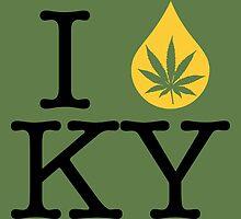 I Dab KY (Kentucky) by LaCaDesigns