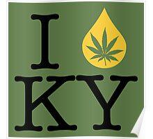 I Dab KY (Kentucky) Poster