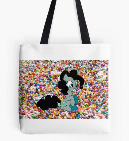 Dark Pinkie Sprinkles Design Tote Bag