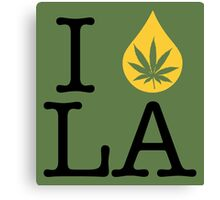 I Dab LA (Louisiana) Canvas Print