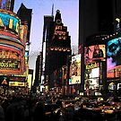 Times Square - 2003 by John Schneider