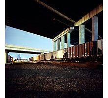 Trainyard Photographic Print