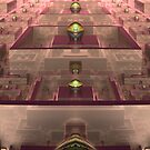 The Hall of Endless Reflection by barrowda