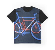Fixed Gear Road Bikes – Blue, Purple and Red  Graphic T-Shirt