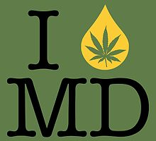 I Dab MD (Maryland) by LaCaDesigns