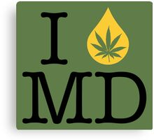I Dab MD (Maryland) Canvas Print