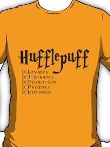 I'm a Hufflepuff T-Shirt