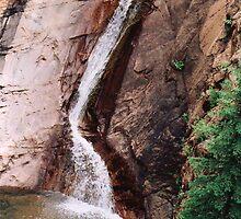 Seven Falls, Colorado by Lori Peters