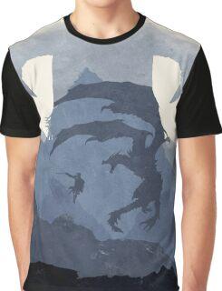 Skyrim II (No Text) Graphic T-Shirt