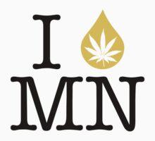 I Dab MN (Minnesota) by LaCaDesigns