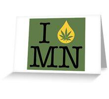 I Dab MN (Minnesota) Greeting Card