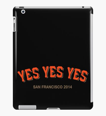 YES YES YES iPad Case/Skin
