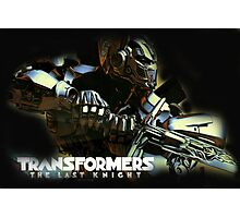transformers the last knight Photographic Print