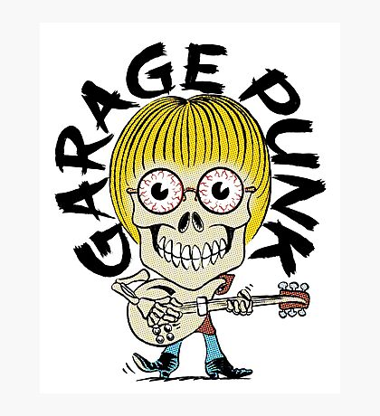Garage Punk Guy Photographic Print