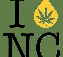 I Dab NC (North Carolina) by LaCaDesigns