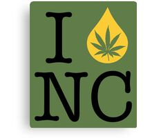 I Dab NC (North Carolina) Canvas Print